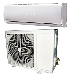 9000 BTU Panasonic powered A++ easy-fit Inverter Wall Split Air Conditioner with 5 meters pipe kit and 5 years warranty eIQ-9WMINV