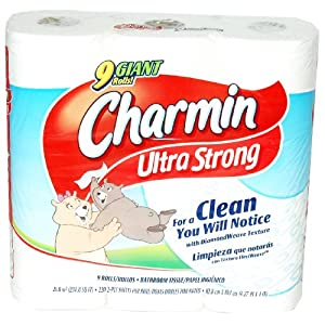 Charmin Ultra Strong Bathroom Tissue - 9 Big Rolls