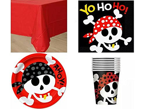 Pirate Fun Party Pack For 8 Guests!