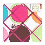 Deco Dot Fabric Memory/Memo Photo Bulletin Board by Sweet Jojo Designs