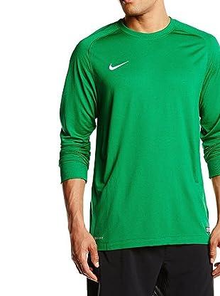 Nike Camiseta Manga Larga Park Goalie II Jersey (Verde / Blanco)