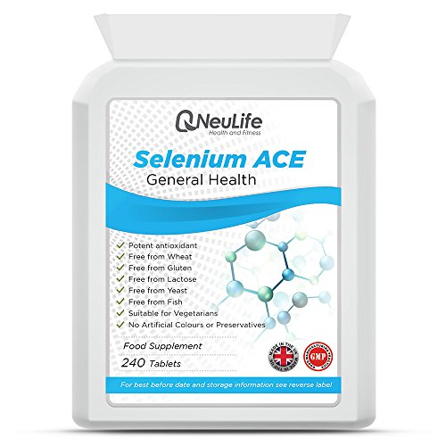 Selenio 200mcg e vitamine A, C, E - 240 Compresse - Neulife Salute e Fitness