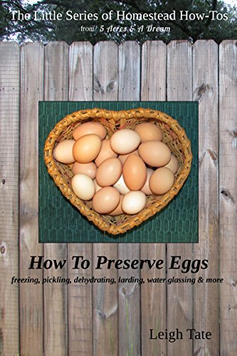 How To Preserve Eggs: Freezing, Pickling, Dehydrating, Larding, Water Glassing, & More (The Little Series of Homestead How-Tos from 5 Acres & A Dream Book 1) (1 Acre Homestead compare prices)