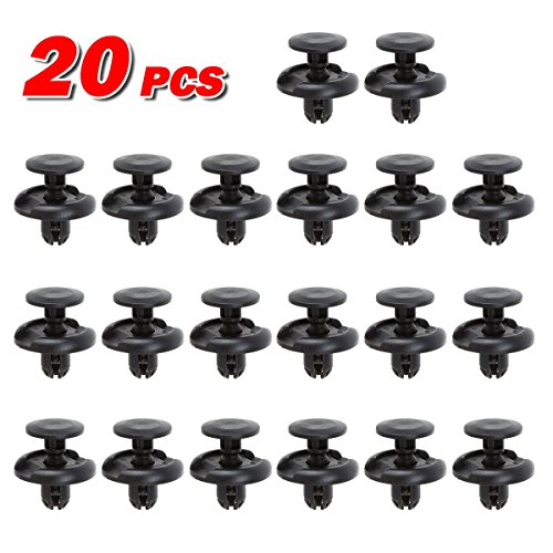 PartsSquare 20pcs Fender Liner Fastener Rivet Push Clips Retainer for Toyota Scion Lexus (Toyota Sienna Fender compare prices)