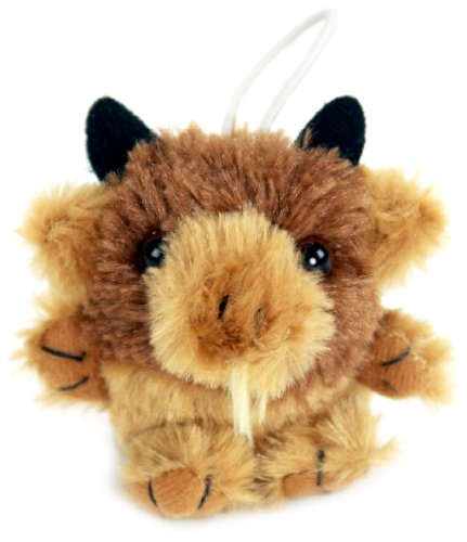 "Purr-Fection Mini Bubba Cushy Kid Buffalo 3"" Plush"