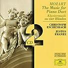 Coffret 2 CD : Oeuvres pour Piano � quatre mains