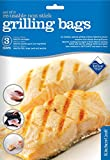 Kitchen Craft Re-Usable Non-Stick Grill Bags - Set of 3