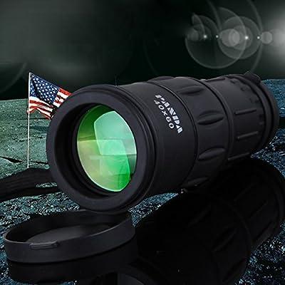 TTTK 60*40 Mini High-power HD Night Vision Monocular Telescope, Panda Non-infrared Shockproof High-power Telescope