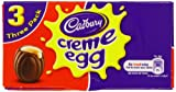 Cadbury Creme Egg (Pack of 3, 1 Box 117g)