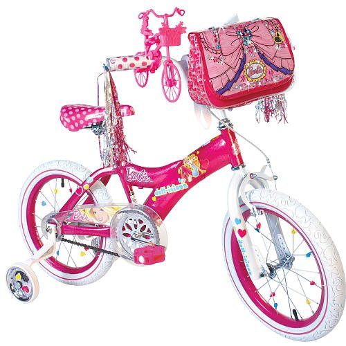 Dynacraft 16 inch Bling It Bike - Girls - Barbie
