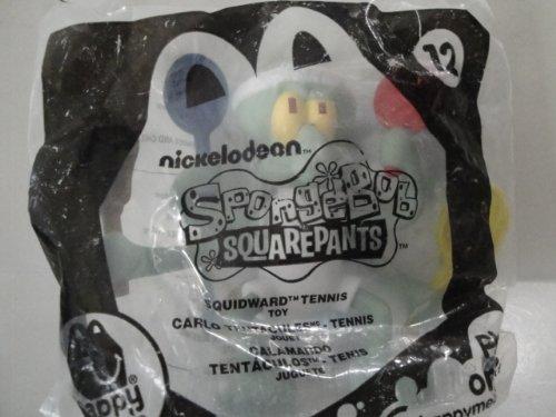"Happy Meal Toy: Sponge Bob Squidward ""Tennis"" #12 - 1"