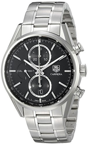 TAG-Heuer-Mens-CAR2110BA0724-Carrera-Analog-Display-Swiss-Automatic-Silver-Tone-Watch