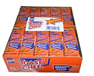 Amazon.com: Lance Fresh Toast Chee 40 Pack Cheese and