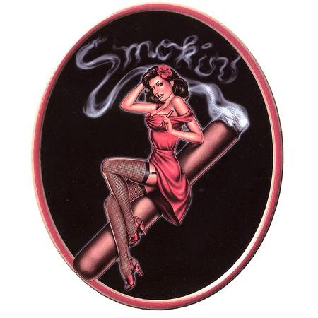 Smoking Chick