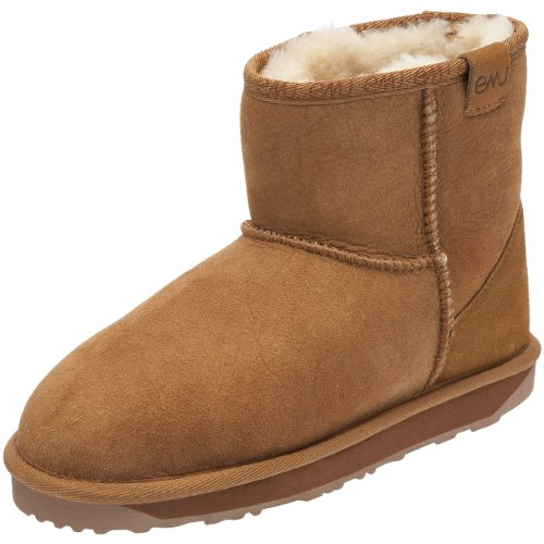 Emu Australia Women's Stinger Mini Chestnut Ankle Boots W10003 8 UK