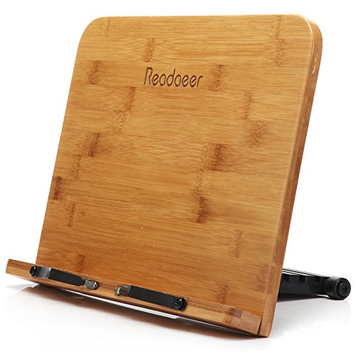 Readaeer® BamBoo Reading Rest Cookbook Cook Book Stand Holder Bookrest (The Cook Book compare prices)