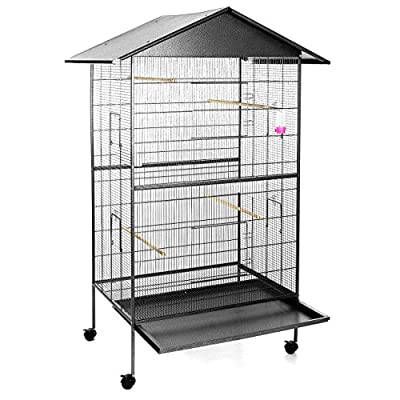 Happypet bird aviary cage BD009 anthracite