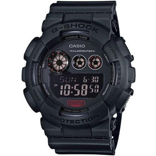 Casio GD120MB-1CR 55mm Resin Case Black Resin Mineral Men's Watch