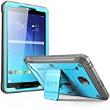 Galaxy Tab E 8.0 Case, SUPCASE Unicorn Beetle PRO Series Full-body Hybrid Protective Case with Screen Protector for Samsung Galaxy Tab E 8.0 Dual Layer Design+Impact Resistant Bumper (Blue/Black)