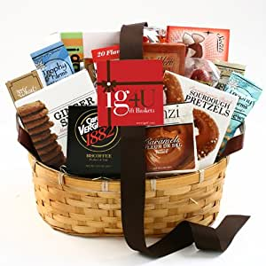 Snackalicious Gift Basket by ig4U