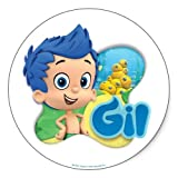 Bubble Guppies: Gil Stickers - Sheet of 6