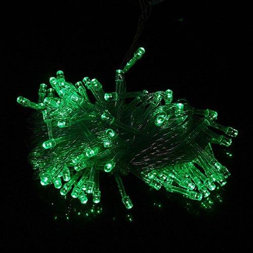 Ledspring 100 Led Light String Christmas Party Fairy Light(Green)