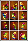 Fashion Outlet New Novelty Design Tetris DIY Constructible Game Style Stackable LED Light