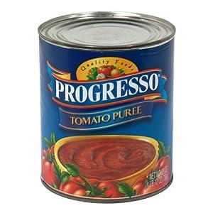 Progresso, Tomato Puree, 28-Ounce (12 Pack)