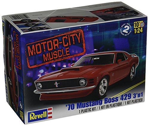 Revell 1:24 '70 Mustang Boss 429 3 'N 1 (Models To Build compare prices)