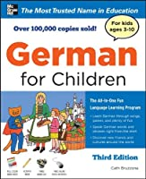 German for Children with Two Audio CDs, Third Edition by McGraw-Hill