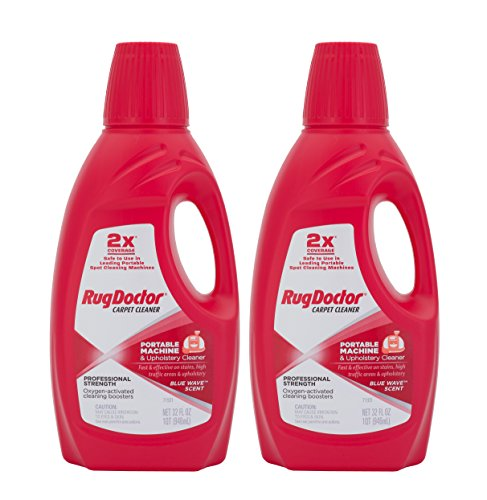 Rug Doctor 04127 Portable Machine and Upholstery Cleaner, 2-Pack (Upholstery Rug Doctor compare prices)