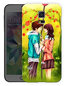 "Humor Gang Girl Boy Couple Love Printed Designer Mobile Back Cover For ""Samsing Galaxy S5"" (3D, Matte, Premium Quality Snap On Case)"
