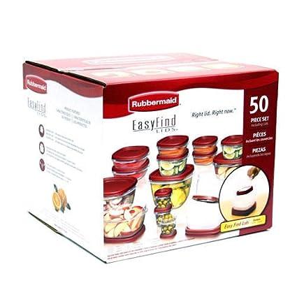 Rubbermaid Easy Find Lid Food Storage Set