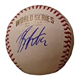 Billy Butler Autographed / Signed 2014 World Series Rawlings Official Game Baseball, Kansas City Royals, KC, WS, Proof Photo