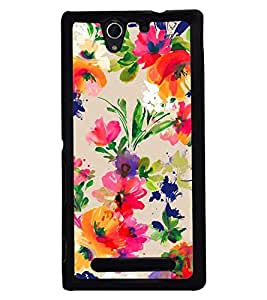 PRINTSWAG PAINTING Designer Back Cover Case for SONY XPERIA C3
