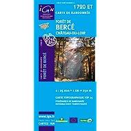 Carte de randonnée : Forêt de Berce