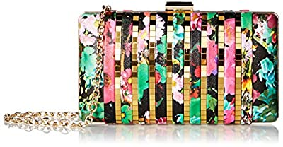 La Regale Hard Floral Clutch
