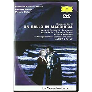 Verdi - Un Ballo in Maschera / Levine, Pavarotti, Nucci, Metropolitan Opera