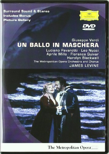 Un Ballo In Maschera (James Levine) -Verdi - DVD