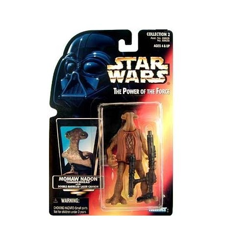 Star Wars: Power of the Force Red Card Momaw Nadon (Hammerhead) Action Figure