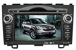 See IN-DASH OEM REPLACEMENT RADIO DVD Gps NAVIGATION HEADUNIT FOR HONDA CRV 2006-2011 WITH REAR VIEW CAMERA Details