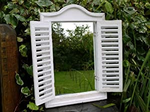 Shutter Mirror by Dutch Imports
