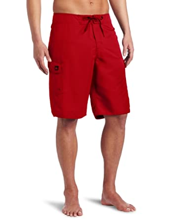 Quiksilver - Mens Manic Boardshorts, 44, Comp Red