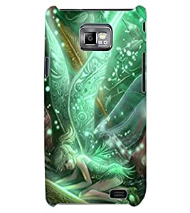 ColourCraft Angel Design Back Case Cover for SAMSUNG GALAXY S2 I9100