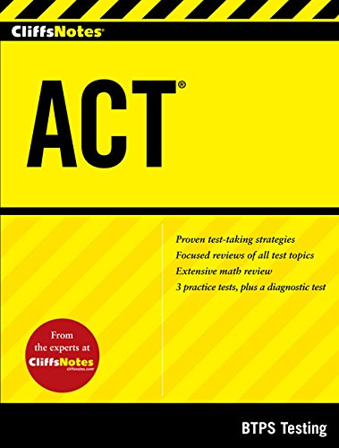 CliffsNotes ACT (CliffsNotes (Paperback))