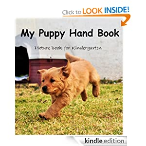 My Puppy Hand Book(Picture Book for Kindergarten) Kids Wilson
