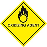 Oxidising Agent Sign- High quality print and materials. Fast shipping!