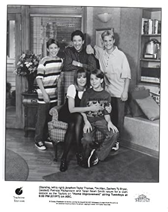 Home Improvement Patricia Richardson Tim Allen original 8x10 glossy