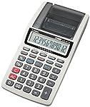 カシオ プリンター電卓 ハンディタイプ 12桁 HR-8TM-GY-N