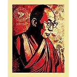 (11x14) Dalai Lama Compassion Graffiti Poster